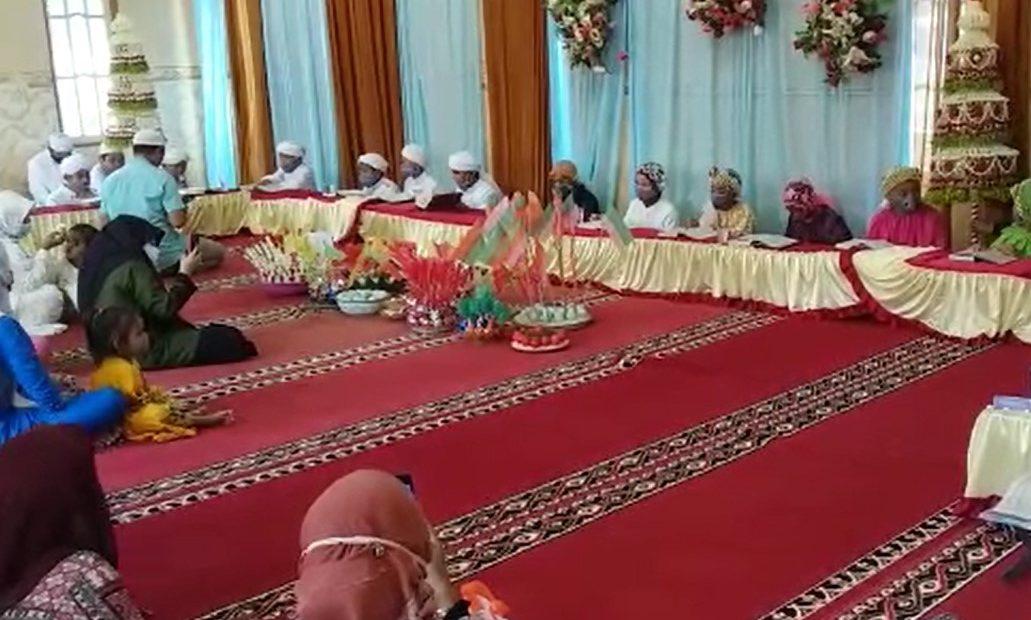 TPQ Raudhatul Adfal, melaksanakan kegiatan khataman Al-Qur'an (foto:duta tv)