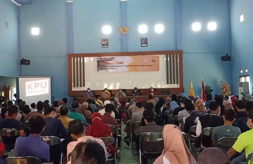 Bimbingan Teknis KPPS Pilwali Banjarmsin (foto:duta tv)