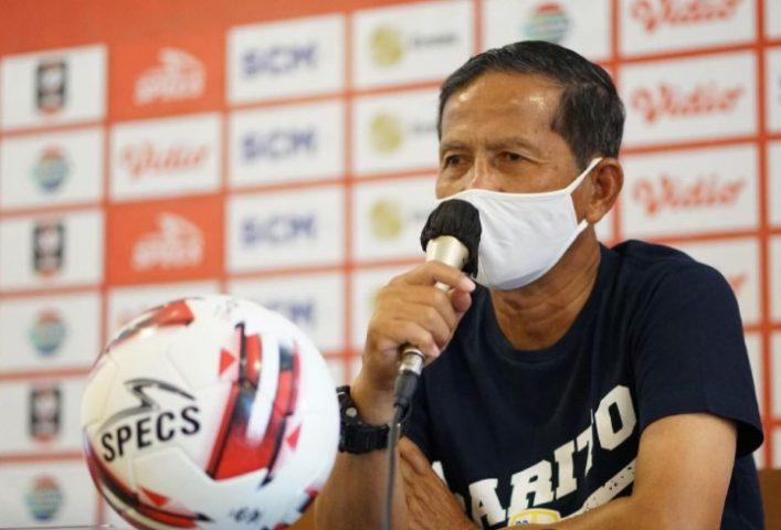 Djajang Nurjaman, Pelatih kepala Barito Putera (sumber : Instagram @psbaritoputeraofficial)