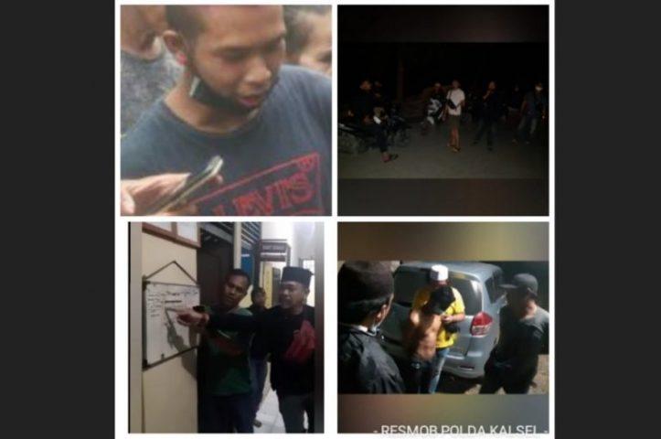 Pelaku Penganiayaan Yang Tenggelam Bersama Bripka Mashudin Selamat, Diamankan di Batola