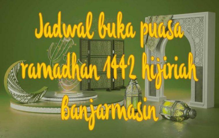 Jadwal Buka Puasa di Banjarmasin, Kalimantan Selatan Ramadhan 2021