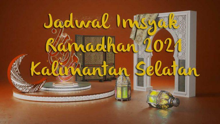 Ini Jadwal Imsyakiyah Ramadhan 2021 / 1442 H di Kalimantan Selatan, Banjarmasin