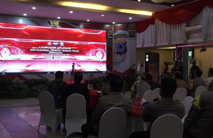 Launching Layanan SIM Online Polri