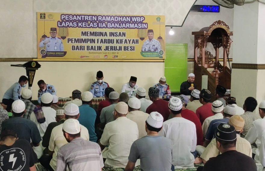 Pesantren Ramadhan digelar selama satu bulan penuh di bulan Ramadhan (foto:duta tv)