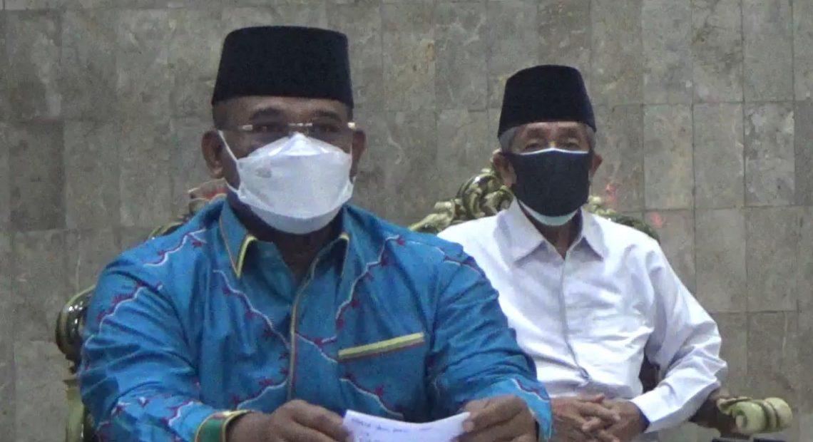 Pj Gubernur Kalsel, Safrizal ZA (kiri)