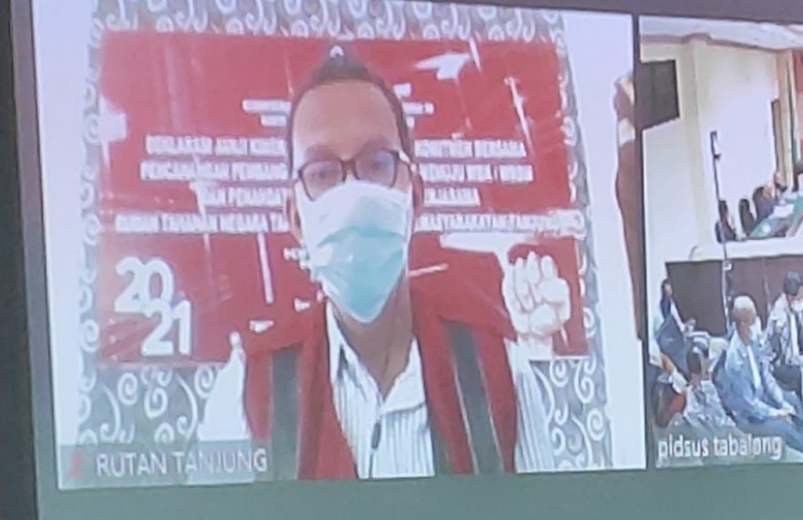 mantan ketua KONI Kabupaten Tabalong, M. Hilmi Apdanie (foto:duta tv)