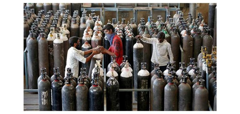 India : Terimakasih Indonesia atas Tabung Oksigennya