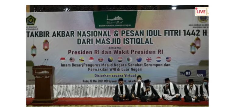 Tak gelar Sholat Id, Istiqlal Takbir Akbar Nasional