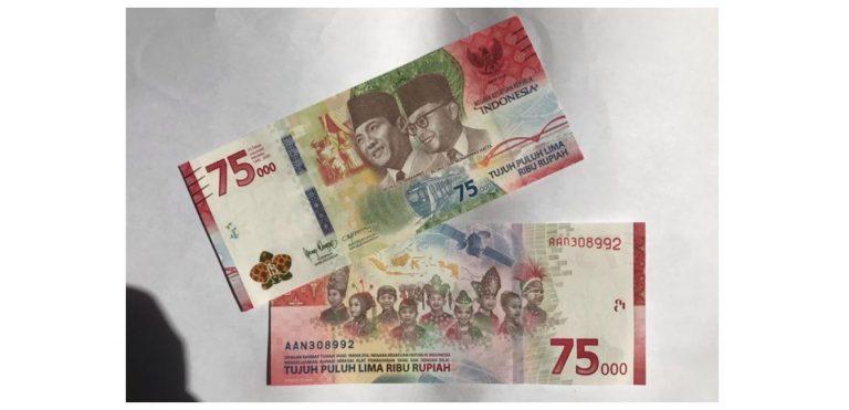 Uang Baru Rp 75 Ribu Ditolak. Kenapa ?