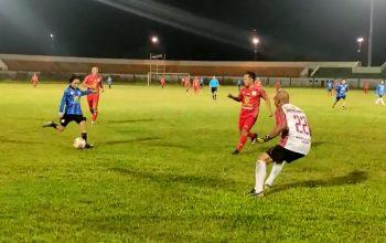 Hasnuryadi dan Coach Djanur Ikut Fun game Bersama Barito Putera Legend