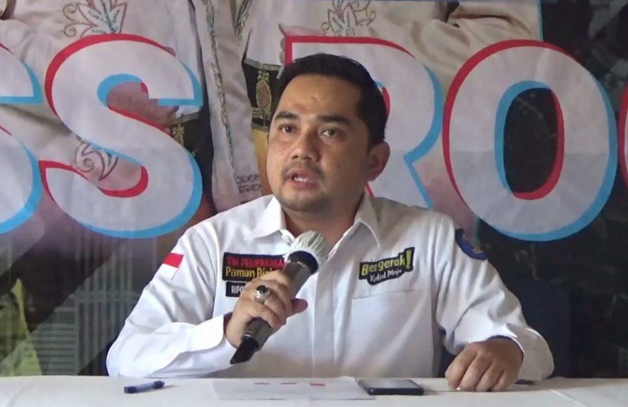 M. Rifqinizamy Karsayuda ketua tim pemenangan paslon Birin-Mu
