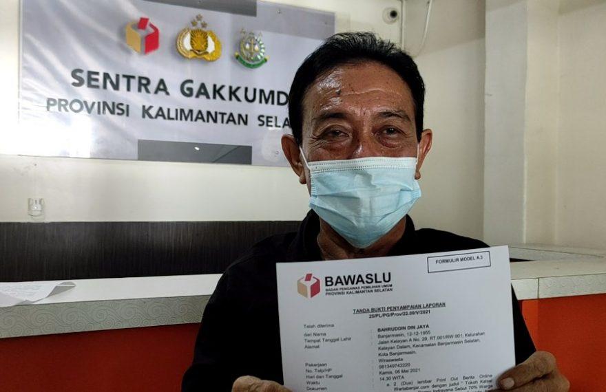 LSM Forpeban Kalsel Adukan Denny ke Bawaslu