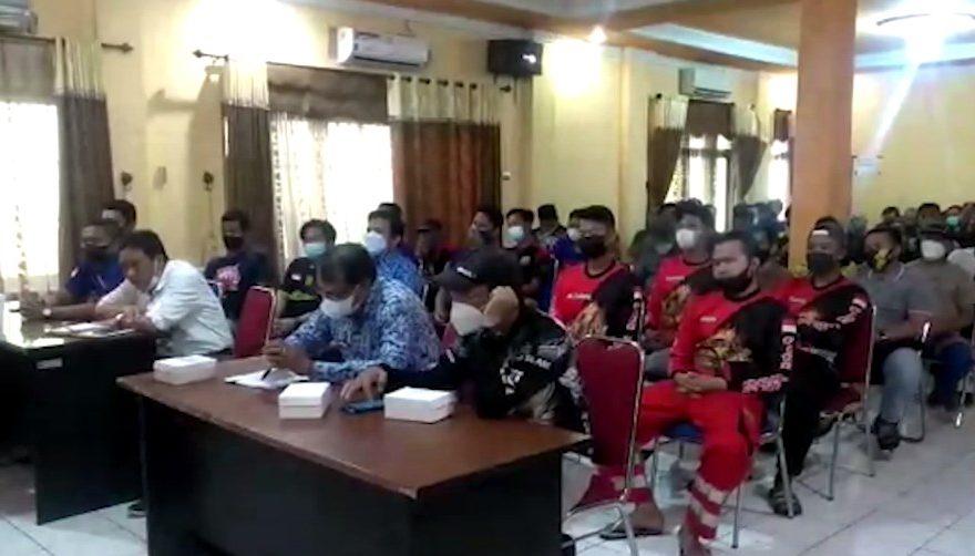 Pemko Banjarmasin Melakukan Pertemuan Bersama BPK