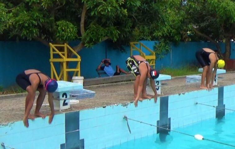 Penjaringan atlet renang (foto:dutatv)