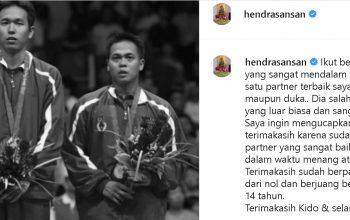 Hendra Setiawan : Markis Kido Partner Terbaik