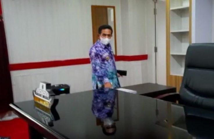 Hari Pertama Kerja, Arifin Pantau Sejumlah SKPD