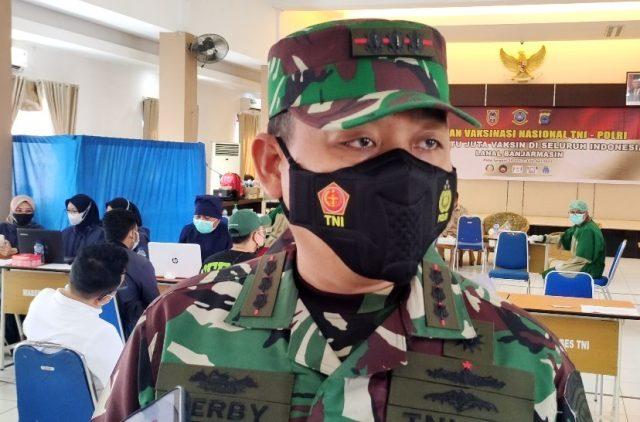 Kolonel Laut (P) Herbiyantoko,m.tr. Hanla Komandan Lanal Banjarmasin.