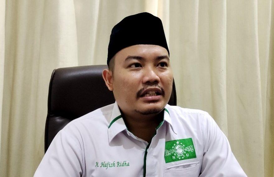 M Hafizh Ridha Wakil Ketua Tanfidziah PW NU Kalsel