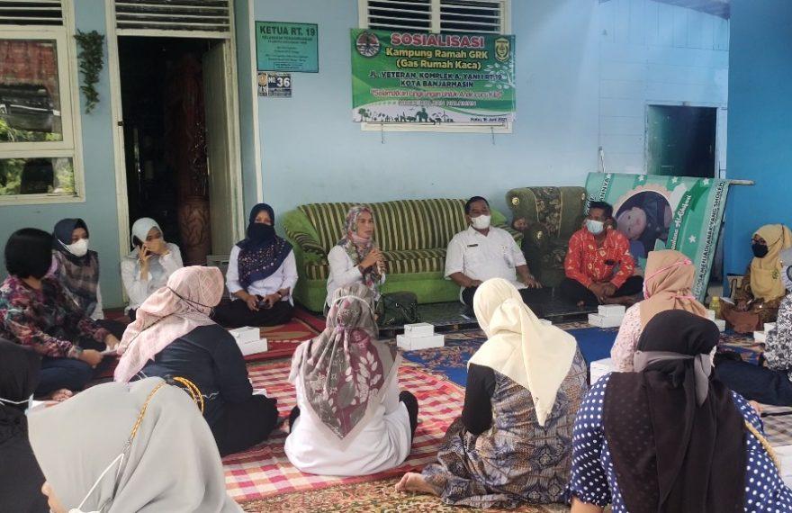Sosialisasi Kampung Ramah Gas Rumah Kaca