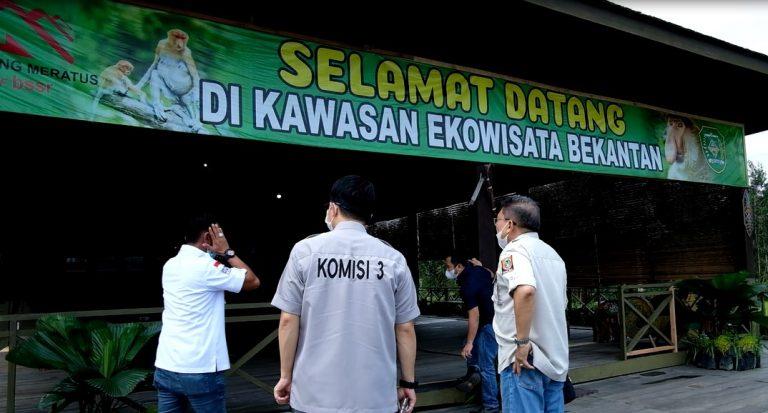 komisi III DPRD Kalimantan Selatan melakukan monitoring