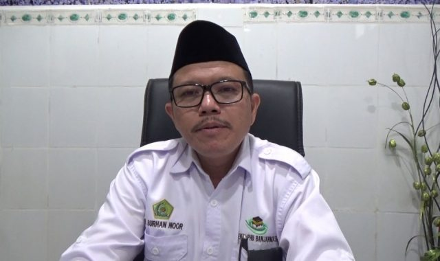 Burhan Noor Kasi PHU Kemenag Banjarmasin.