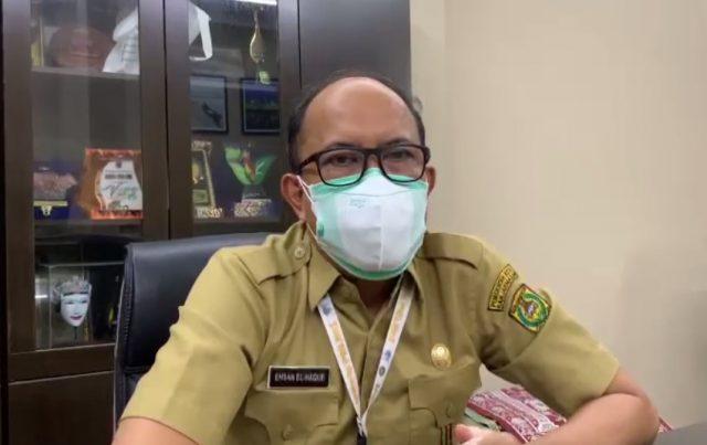 Ehsan Al Haque Kadisbudpar Kota Banjarmasin.