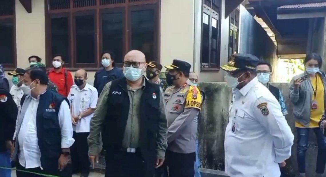 KPU RI dan Pj Gubernur Kalsel Tinjau TPS