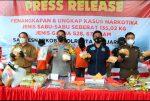 Polresta Ungkap 135 Kg Sabu Dalam Karung Beras