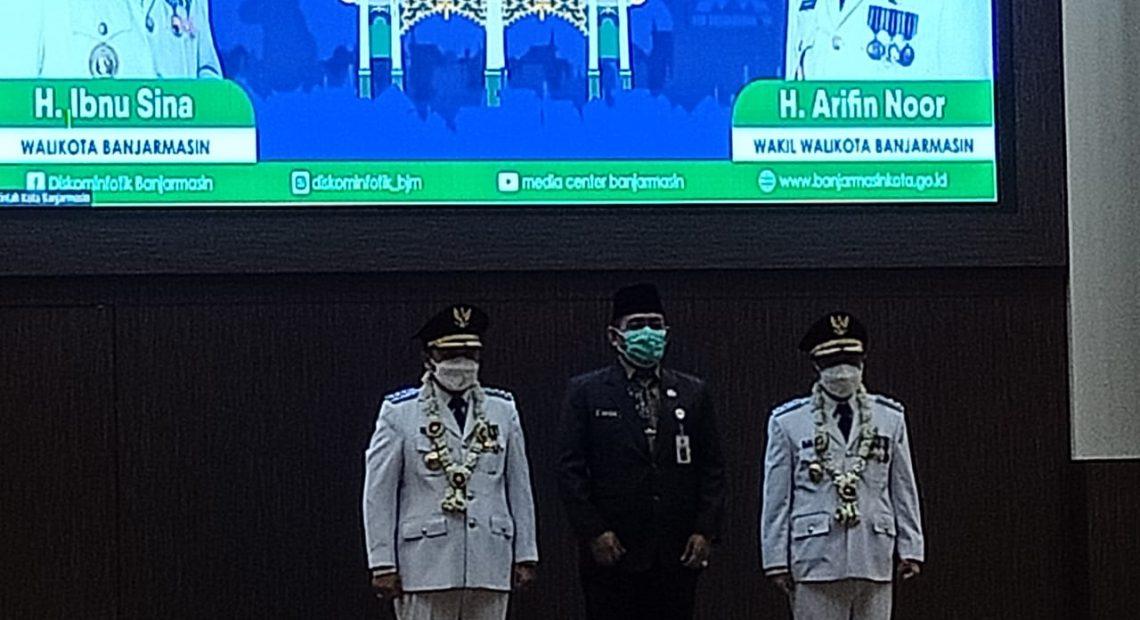 pelantikan walikota dan wakil walikota Banjarmasin