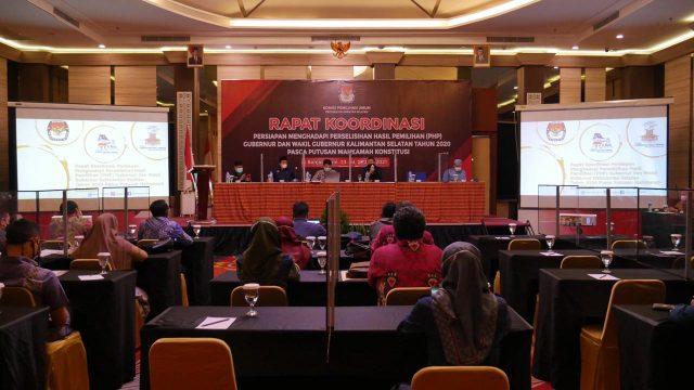 Rapat Koordinasi KPU