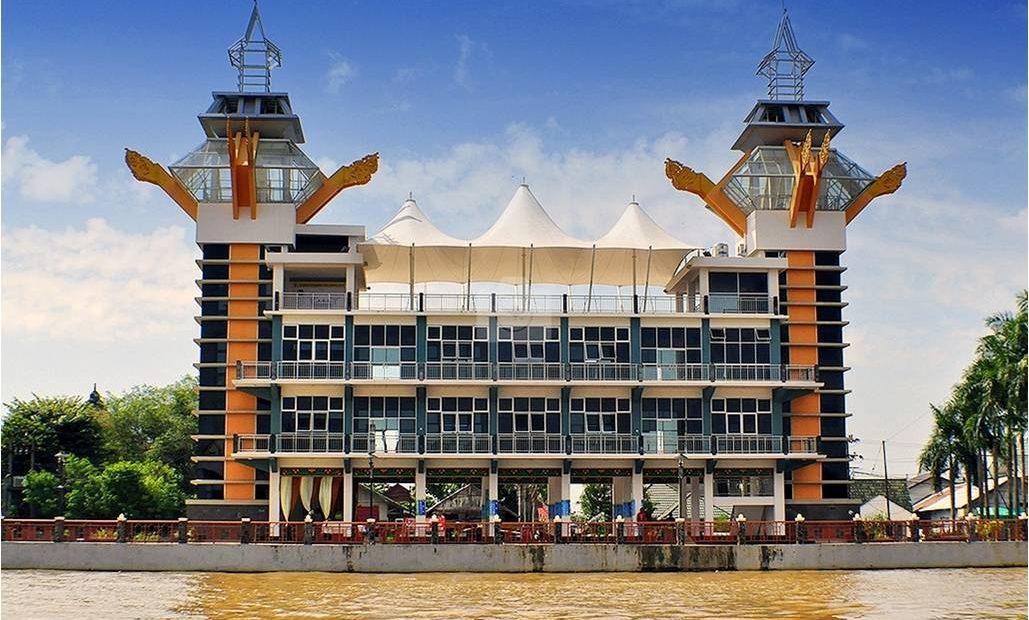 Ikon kota Banjarmasin( foto: Istimewa)