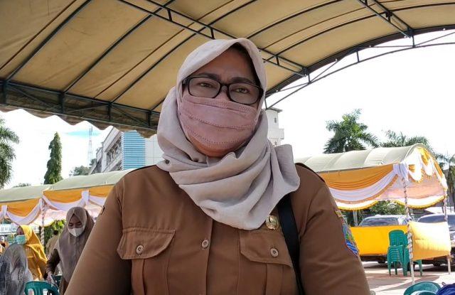 kepala Dinas Kesehatan Kotabaru Suprapti Tri Astuti