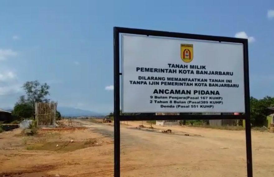 Papan Pengumuman dari Pemko Banjarbaru