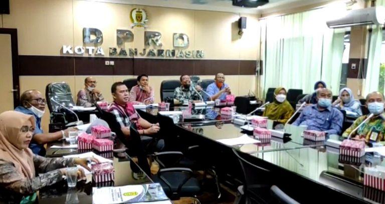 Rapat DPRD kota Banjarmasin