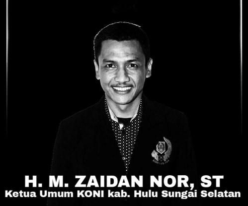 Ketua KONI HSS Tutup Usia