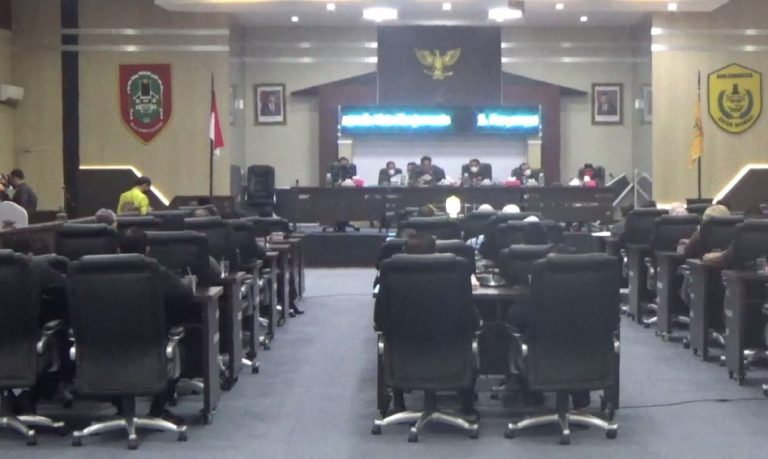 DPRD Banjarmasin menggelar 4 paripurna