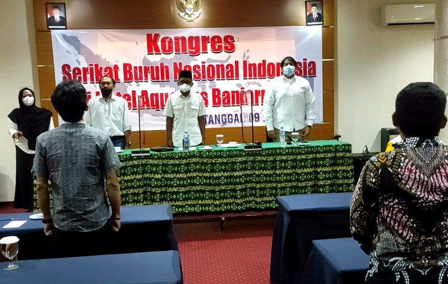Serikat Buruh Nasional Indonesia menggelar kongres