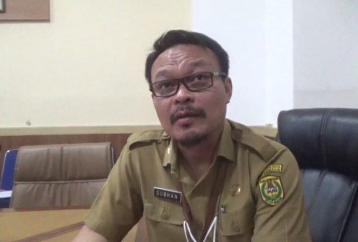 Subhan Noor Yaumil Kepala Bakeuda Banjarmasin.