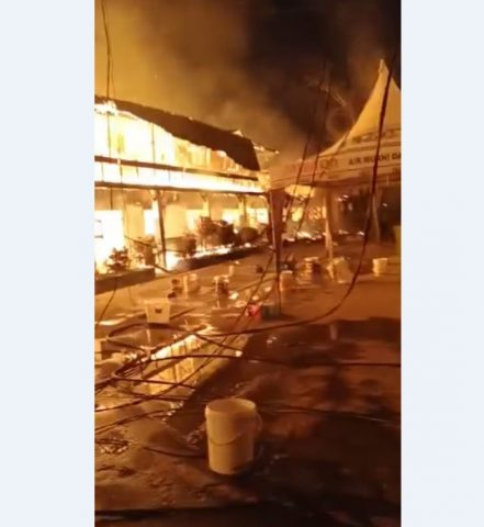 Musibah Kebakaran di Ponpes Al-Falah Putera