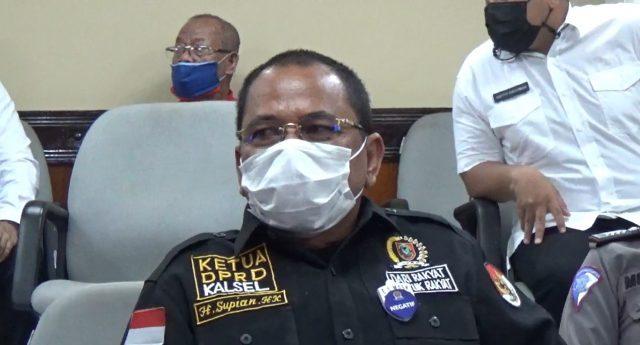 ketua DPRD Kalsel H Supian HK