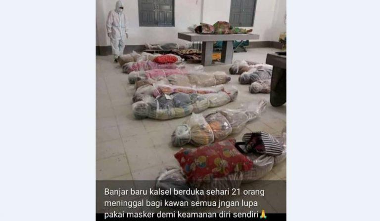 Kapolres Banjarbaru Cari Pembuat Photo Hoax Korban Covid